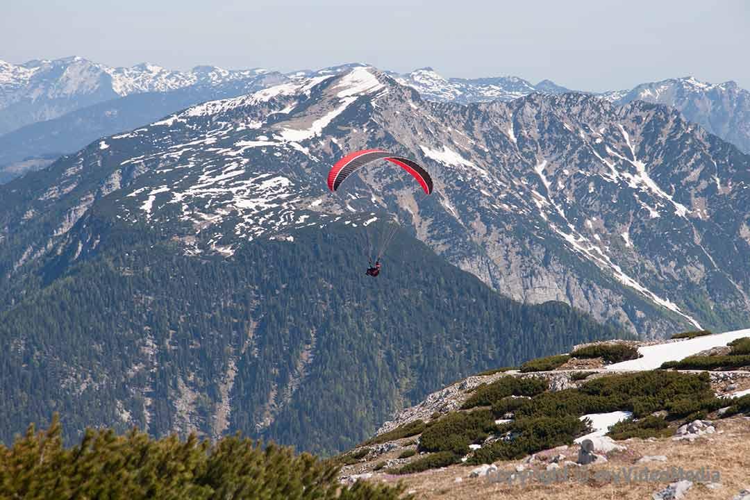 Paragliding Krippenstein