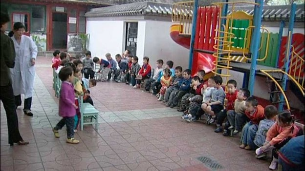 Kindergarten in Peking