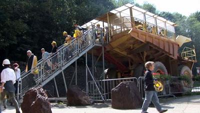 Erzberg mine Hauly Tour