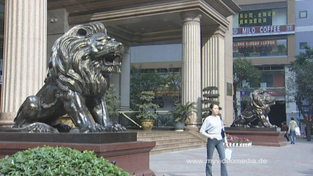 Im Zentrum von Chongqing