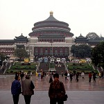 People's Congress Hall in Chongqing – China