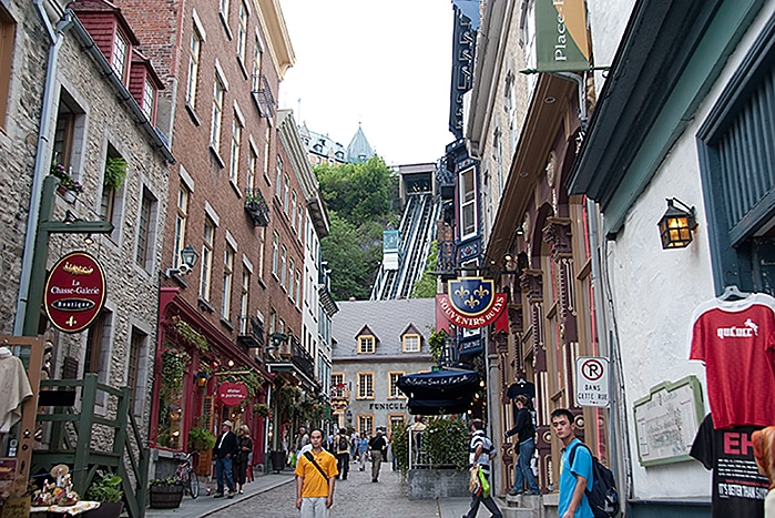 Lower Town Quebec