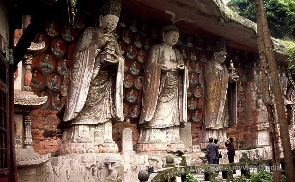 Dazu Rock Carvings Baodng Shan