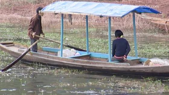 Auf dem Shennong-Fluss