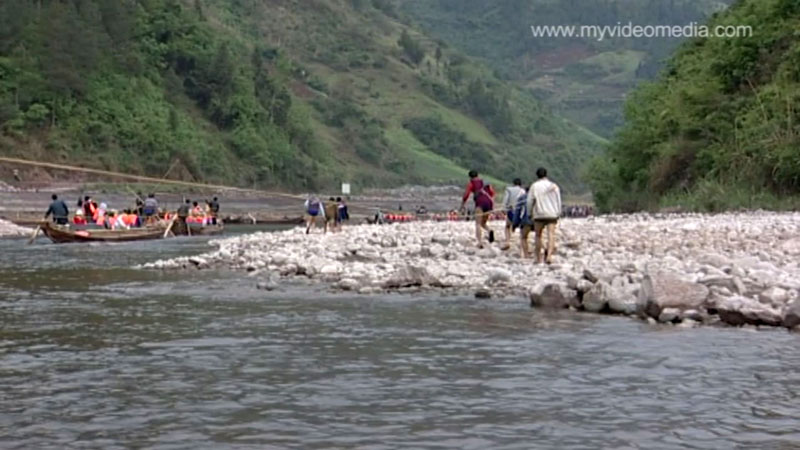 Shennong-Fluss Tuja