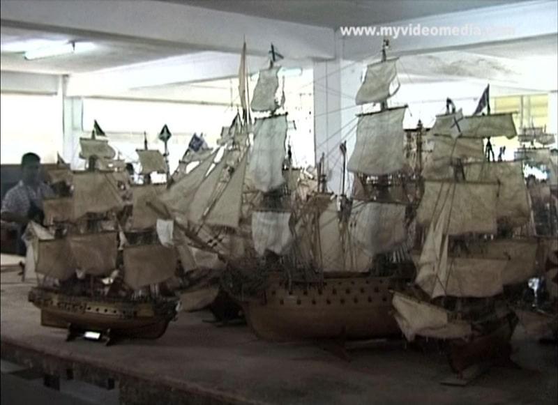 Modellschiffbau Mauritius