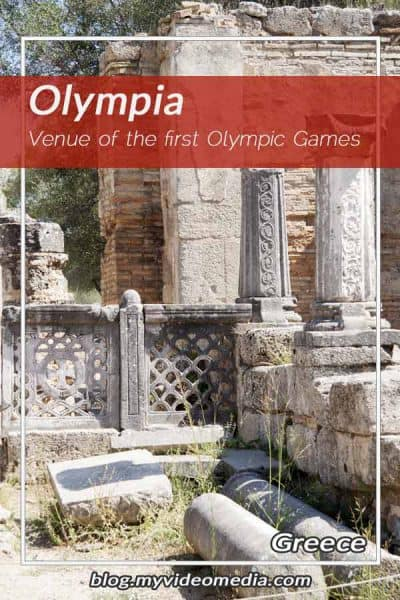 Olympia-venue of the first Olympic Games