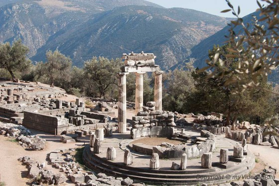 Sanctuary of Athena Pronaia Delphi