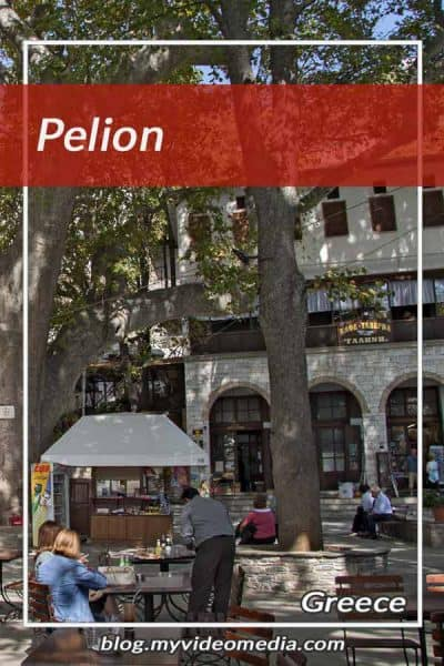 Visiting the Pelion in Greece