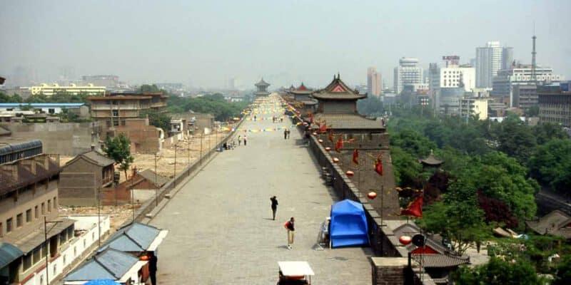 Xian in Shaanxi