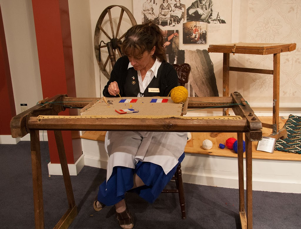 Rug Hooking and Home Life in Chéticamp