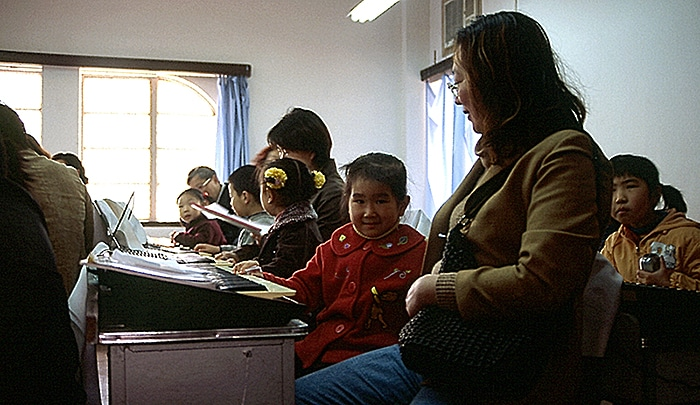 Saturday school in Shanghai - China