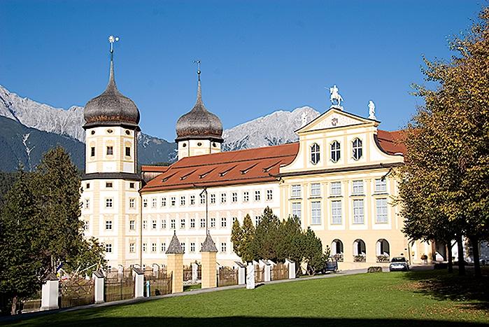 Cistercian Abbey in Stams in Tyrol