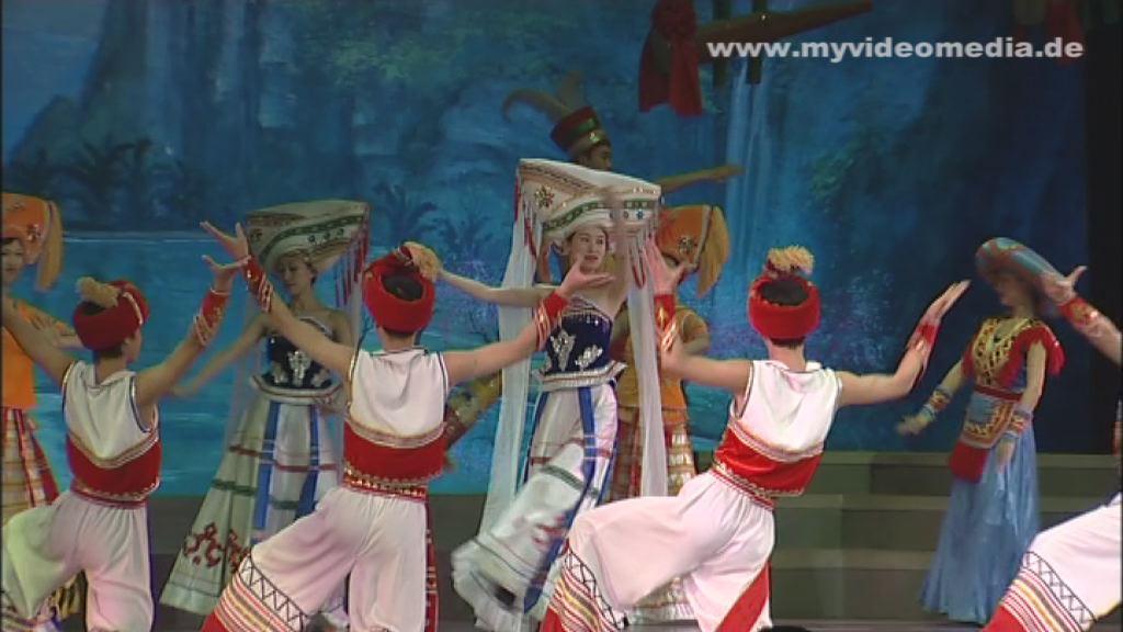 Frühlingtheater Tanz der Zhuang