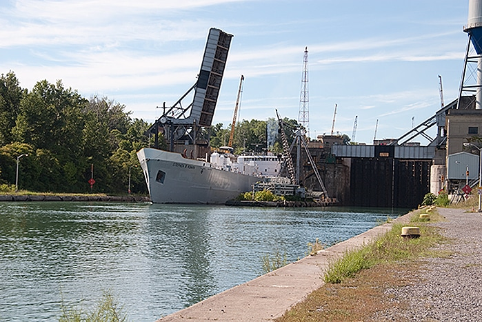 Welland Canal Lock 4
