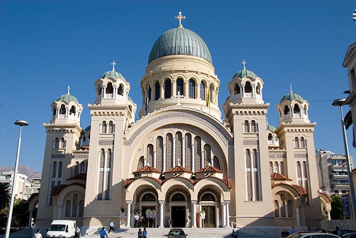 Greek Orthodox basilica Saint Andrew of Patras - Agios Andreas