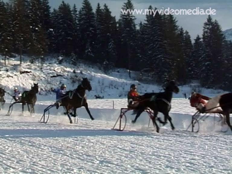 Stephani race at racing track Laffererhof in St. Johann in Tyrol