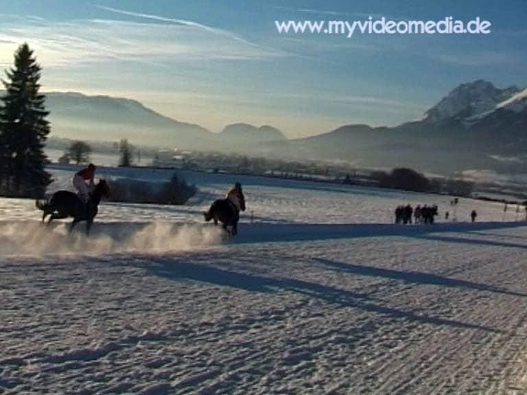 Horse racing track Laffererhof in St. Johann in Tyrol