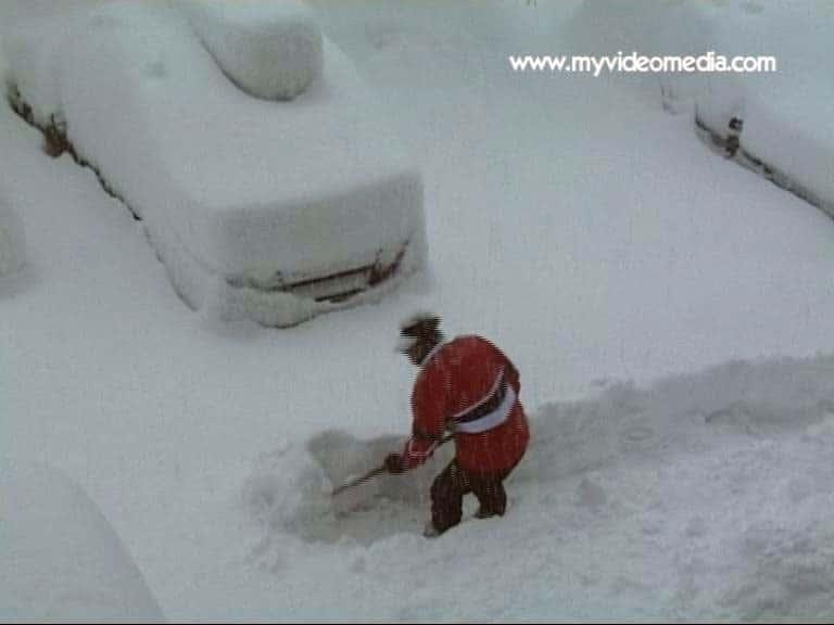 Schnee in Gaschurn
