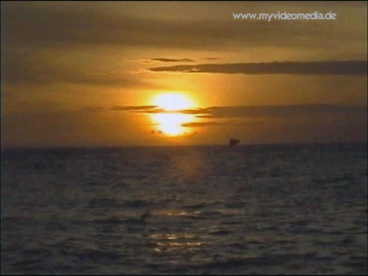 Sonnenuntergang Senggigi Lombok