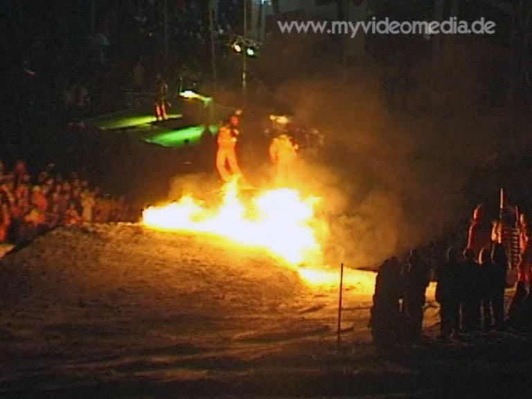 St Johann in Tirol Feuershow