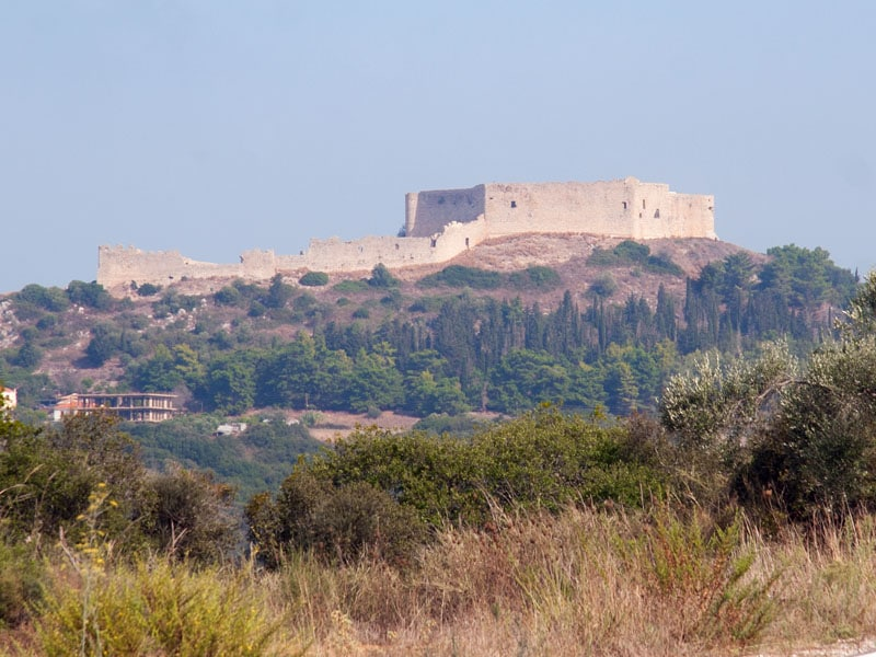 Burg Chlemoutsi - Castel Tornese