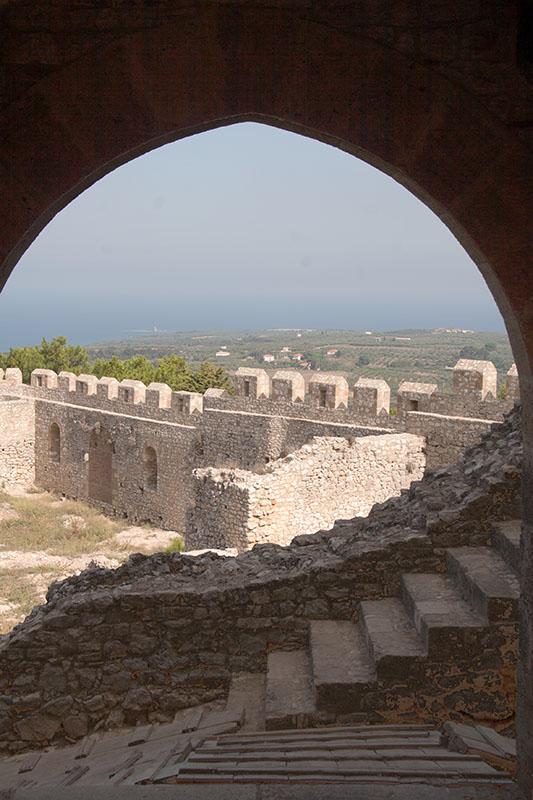 Inside Castel Tornese - Chlemoutsi