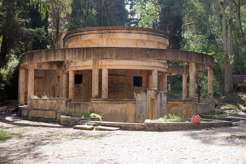 thermal springs built by the Romans