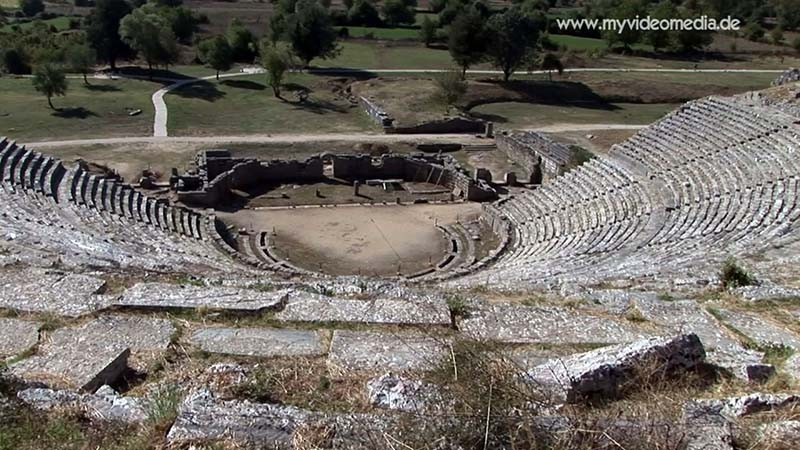 theater of Dodona from the 3rd Century BC