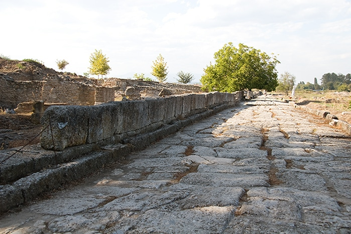 ancient Dion - Greece