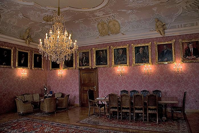 Mayor's office in city hall St Poelten - Austria