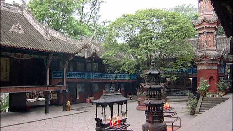 Erwang Tempel - China