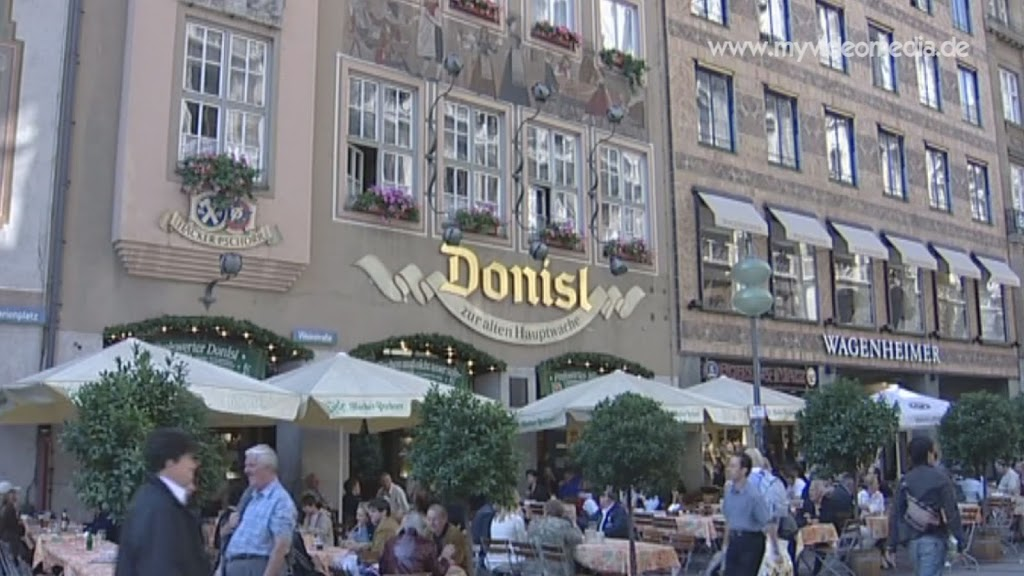 Traditional restaurant Donisl Munich