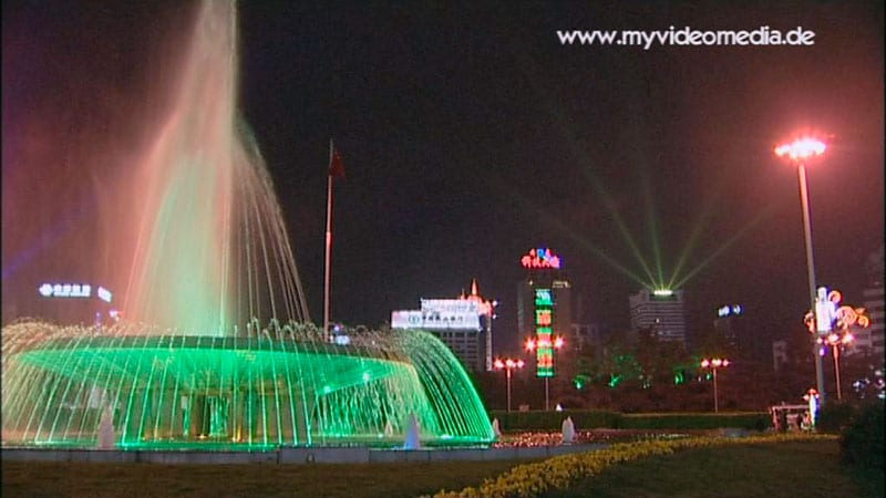 Kunming at night