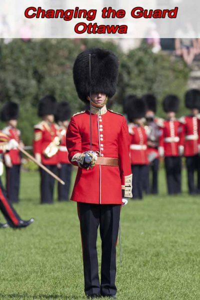 Changing the guard Ottawa