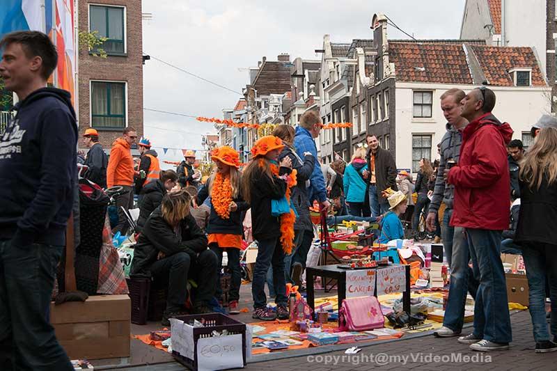 flee market Koninginnedag