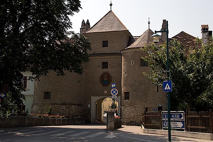 Roman Gate in Traismauer Austria