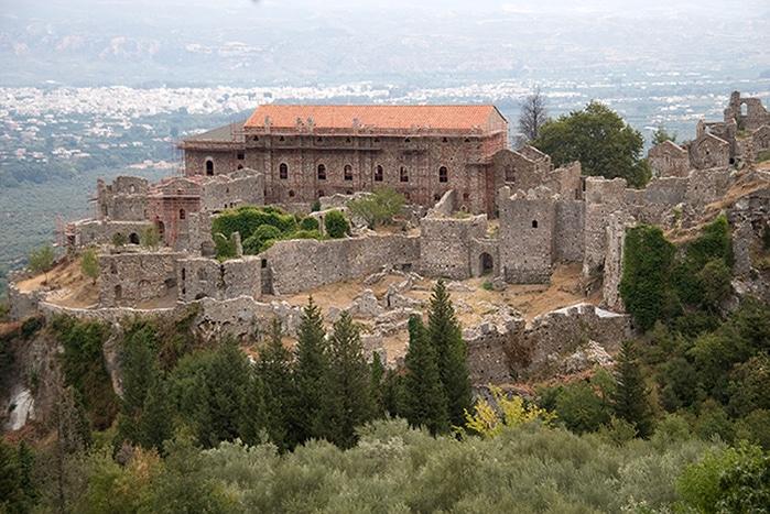 Ruinen von Mystras