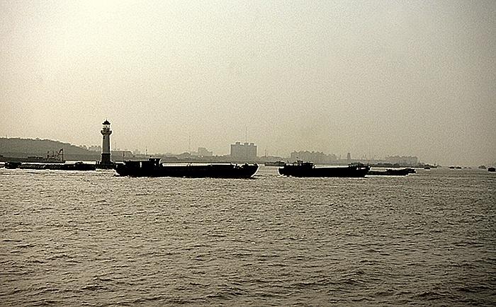 Mündung Huangpu-Fluss