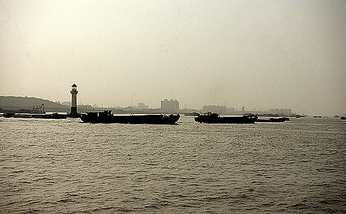 Mouth of Huangpu River