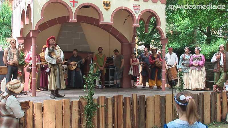 Markteroeffnung Mittelalter Spektakel