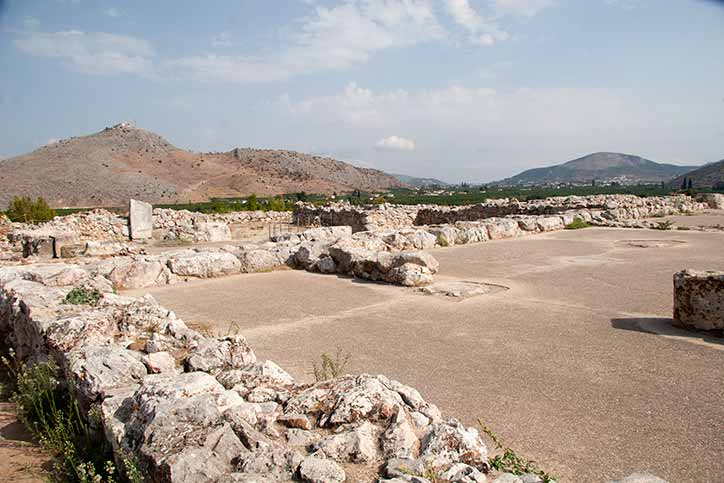 Tiryns - part of the former ancient city