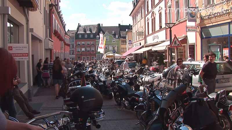 Harley Davidson in Wittlich Neustrasse