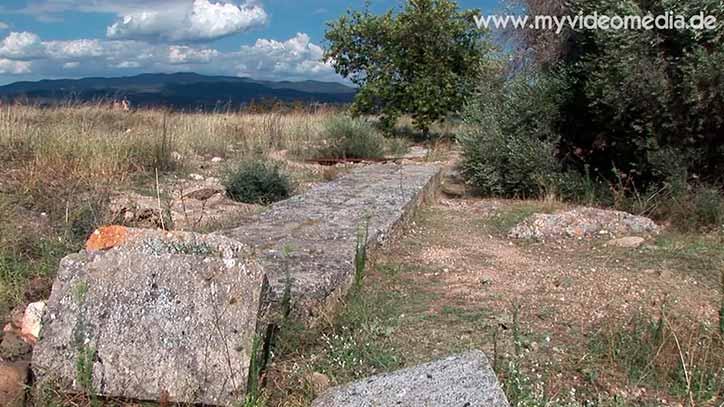 Olynth - einst antike Stadt