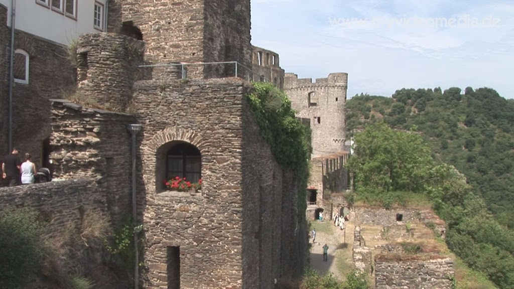 In der Burg Rheinfels