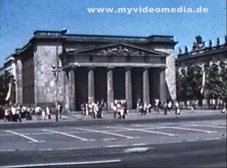 Humboldt Universität in Ost-Berlin 1977