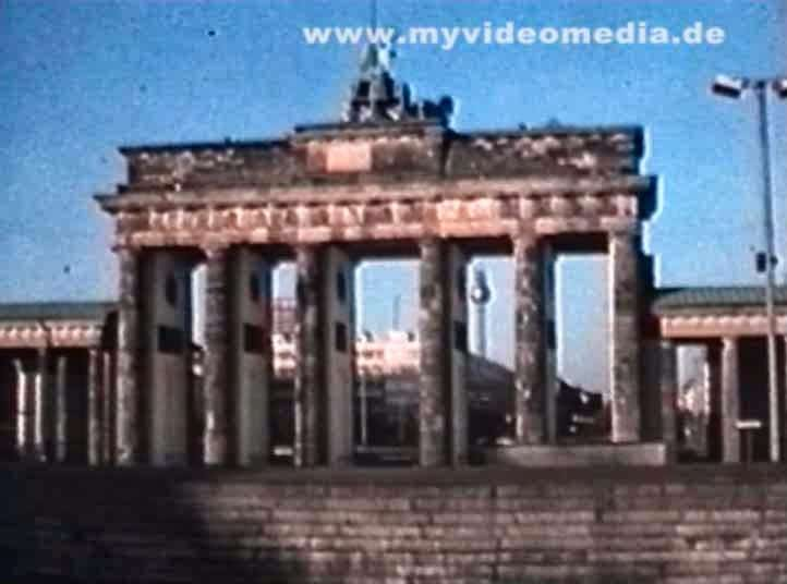 Brandenburger Tor Berlin 1977