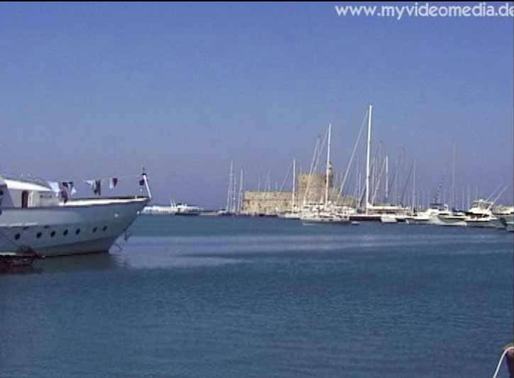 Rhodos Hafen