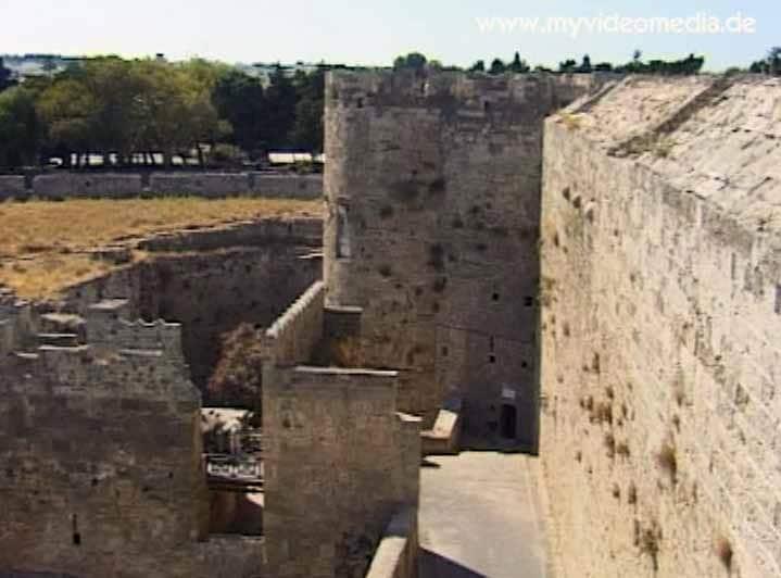 Stadtmauern von Rhodos