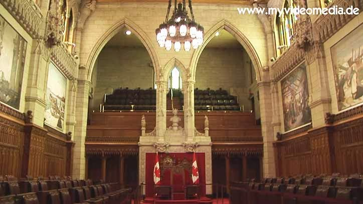 Parliament Ottawa Senate chamber